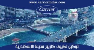 توكيل تكييف كاريير مدينة الاسكندرية